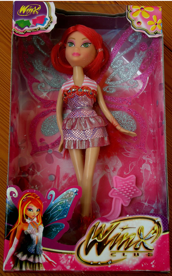 Budilmart Winx Club Red Hair Doll New Ebay