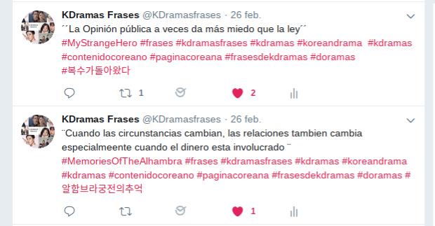Kdramas Frases