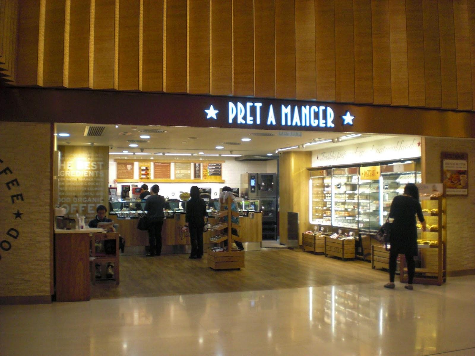 Pret A Manger 百特文治:新鮮.天然.限定英倫最好 - 飲品美食