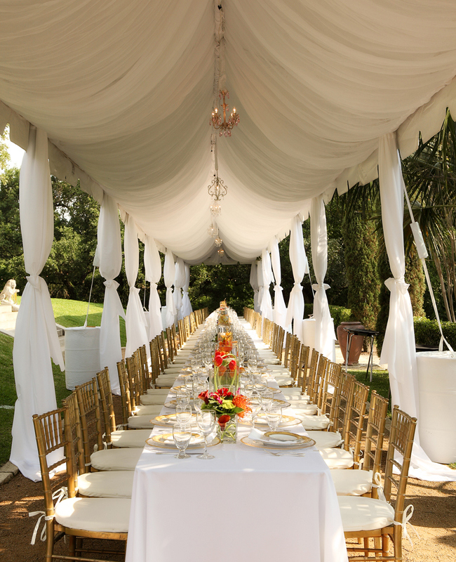 Castle Manor: 7 Ways To Drape Your Wedding Reception
