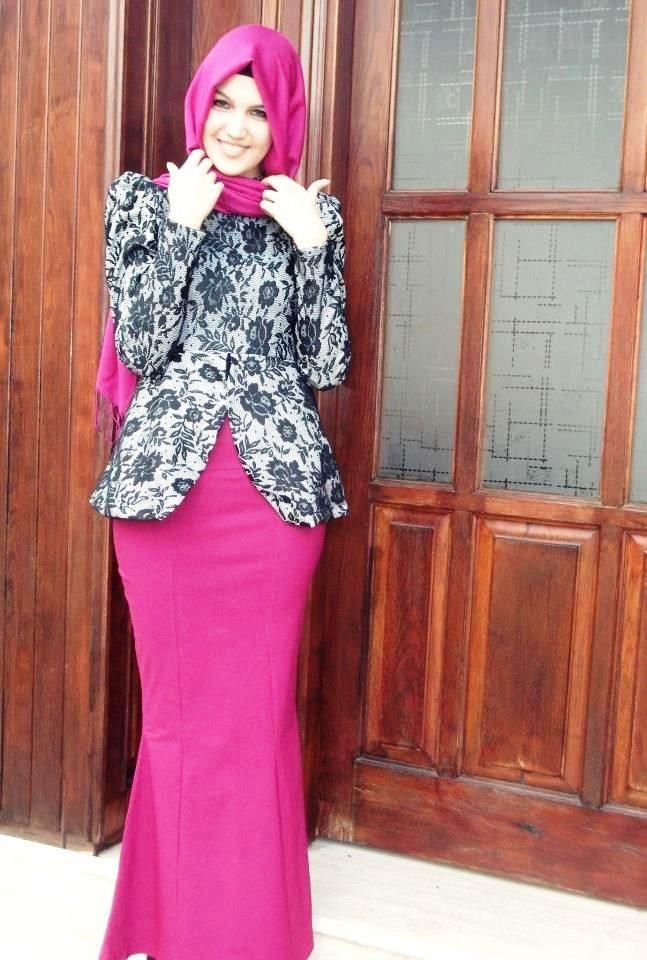 ッ 40 Model Baju Batik Remaja Putri Muslim Lengan Panjang