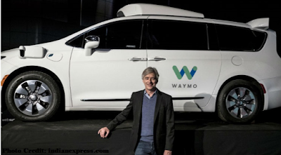 The world's first driverless car service going to launch in December by Waymo..