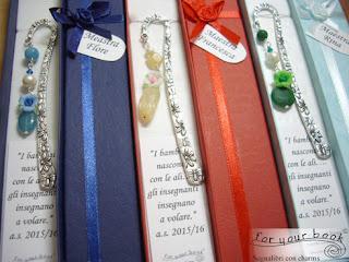 segnalibro pietre dure regalo insegnanti e maestre