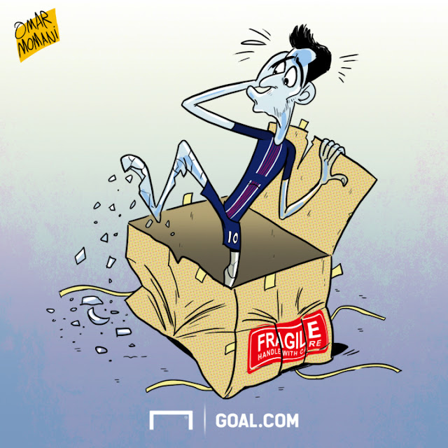 Javier Pastore cartoon