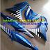 Mẫu sơn tem đấu airbursh Exciter 150 màu trắng xanh biển [Exciter 150_SG2017]