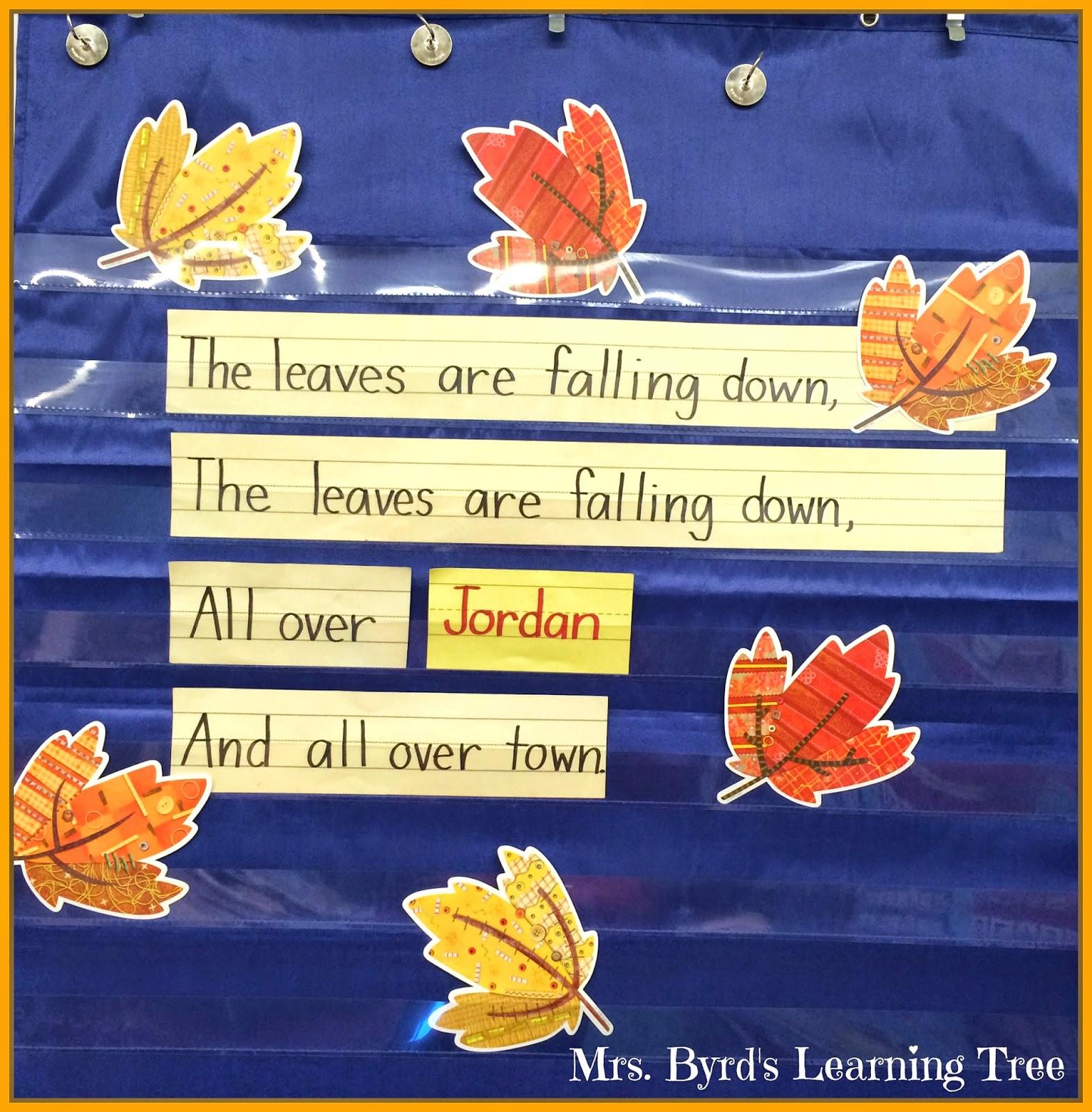 Mrs Byrd S Learning Tree Fall Fun