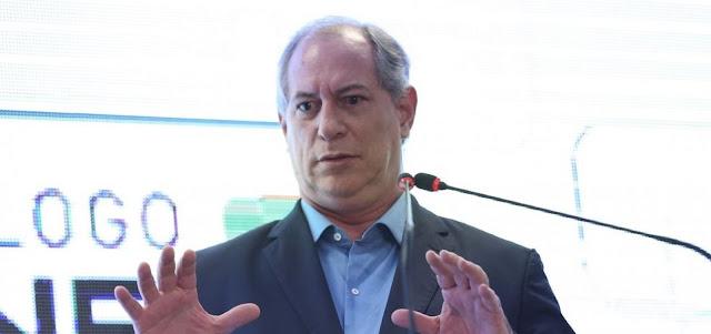Ciro critica PT e diz torcer por Bolsonaro: 'Sou obrigado a desejar que dê tudo certo'