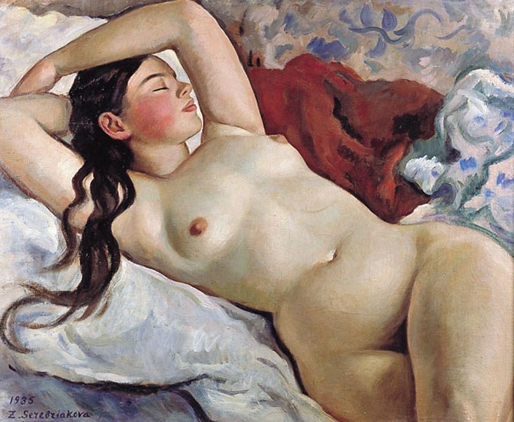 Angela Dodson Porn por amor al arte: zinaida serebriakova (1884-1967)