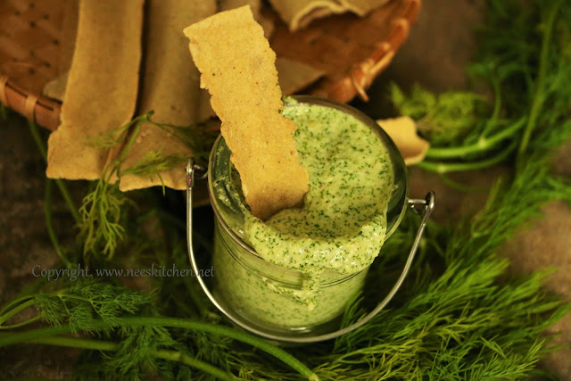 Dill Leaves & Parmesan Dip