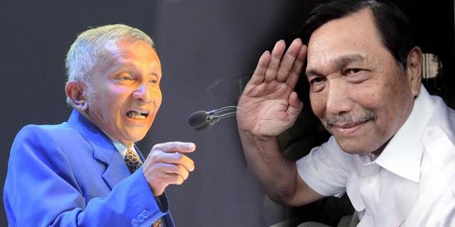 PDIP Bilang Luhut Marah Wajar, Amien Rais yang Tak Manusiawi