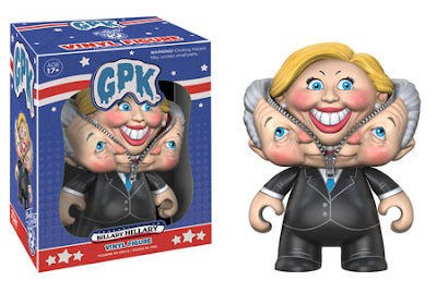 Garbage Pail Kids 2016 Road to the White House Vinyl Figures by Funko - Billary Hillary