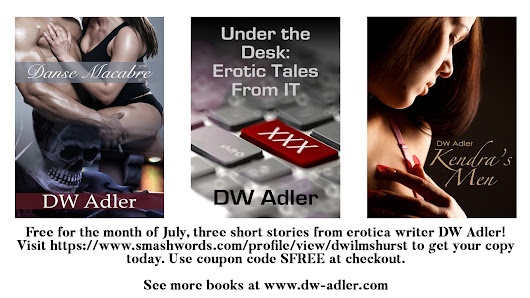 Smashwords July Summer/Winter Sale - My Short Stories are Free!