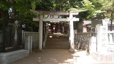 三鷹市の勝渕神社