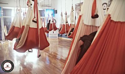 yoga, columpio, hamaca, trapeze, hamac, acro, swing