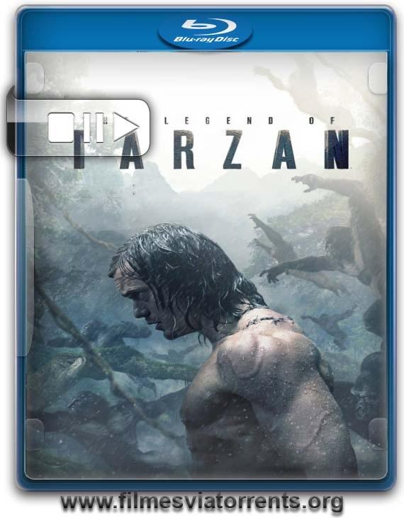 A Lenda de Tarzan (The Legend of Tarzan) Torrent – HDTS Legendado (2016)
