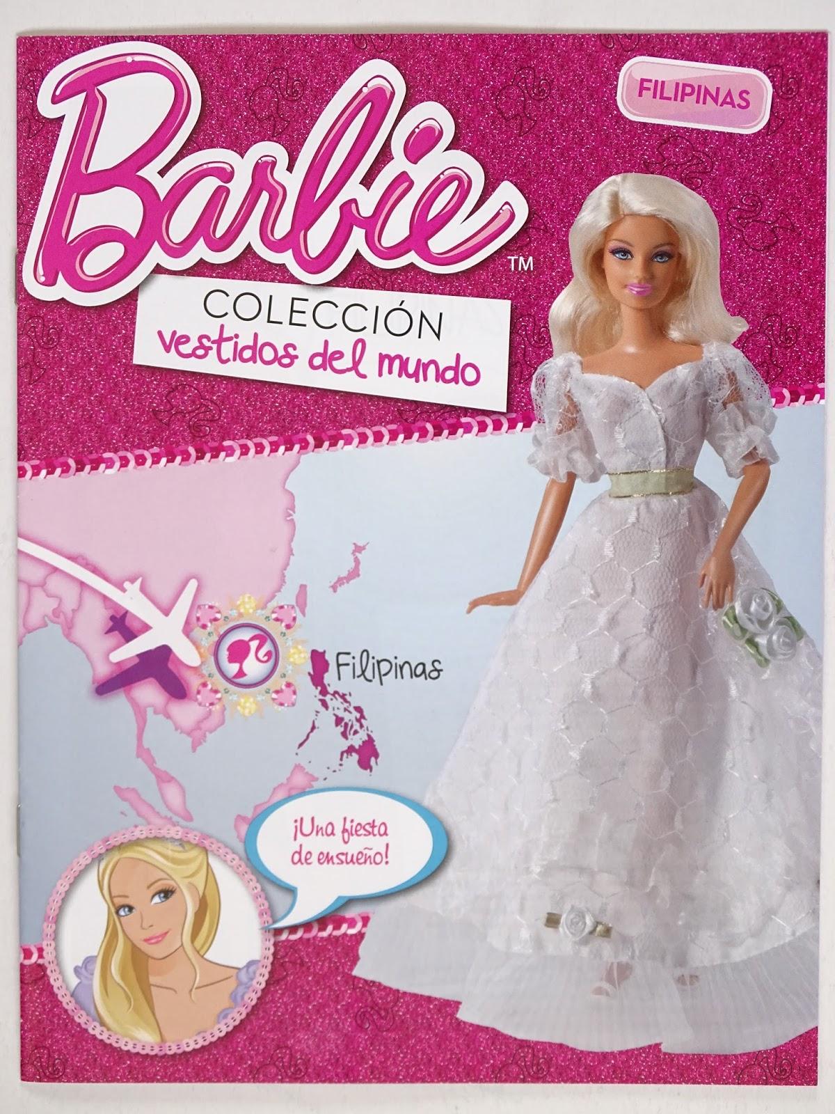 que bonito Yohanita!: Barbie, Colección Vestidos del Mundo: Filipinas