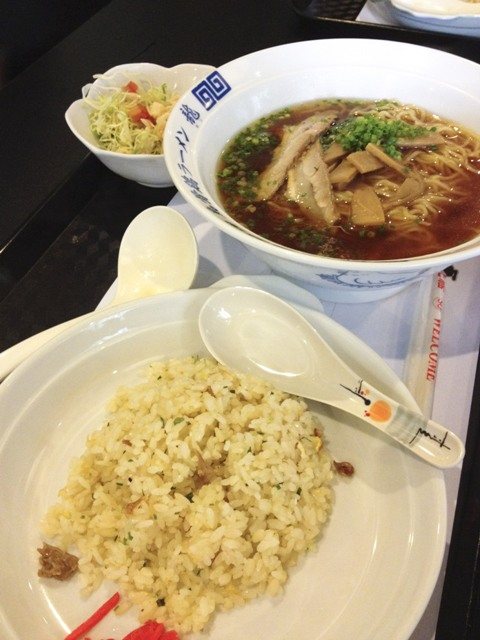 Ukokkei Ramen Ron Lunch Set A