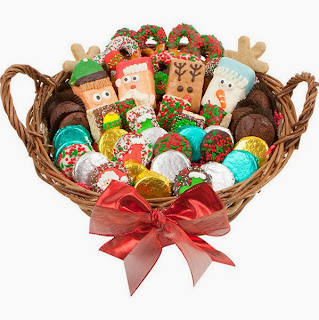 Christmas Bakery Gift Basket