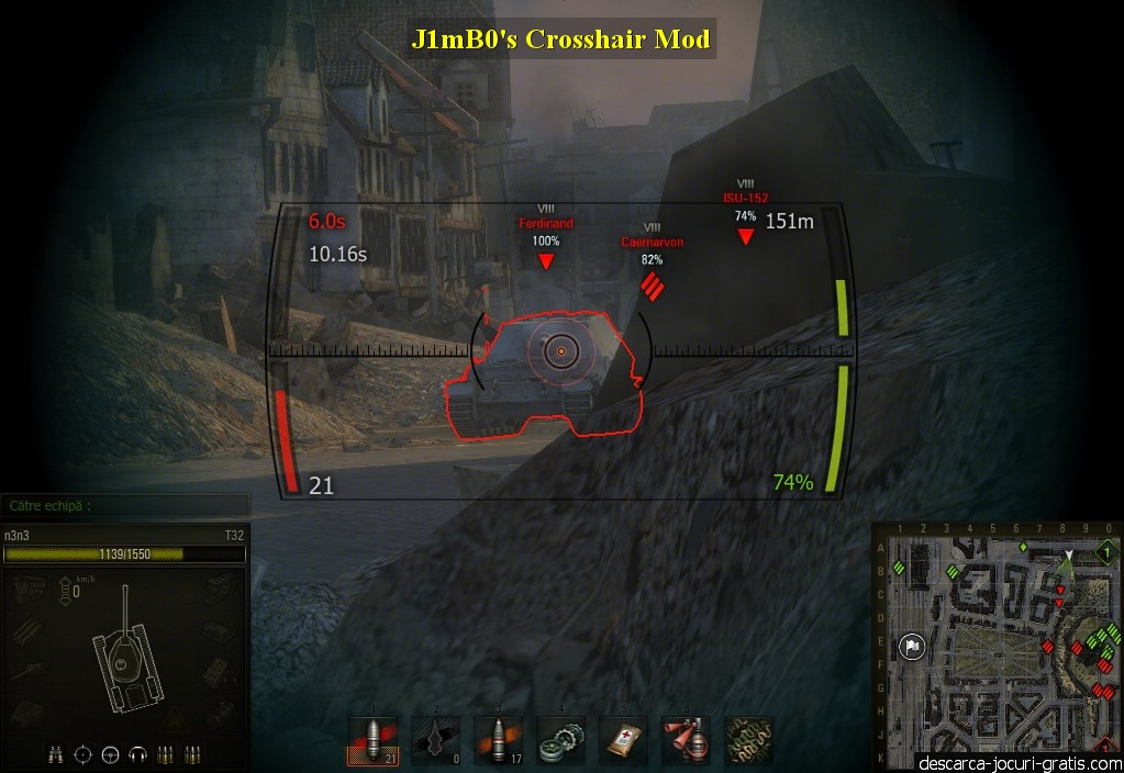 J1mB0's Crosshair Mod screenshot 4