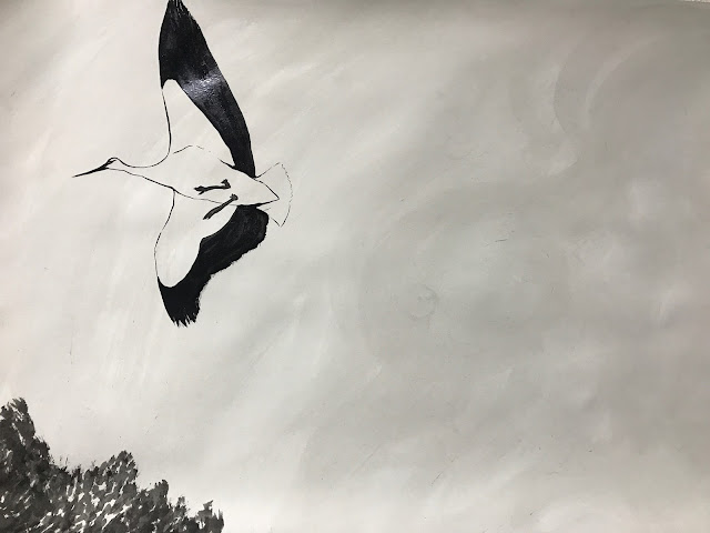 吹いたその風は…〜コウノトリ編〜 / The way of the blowing wind.〜Stork〜