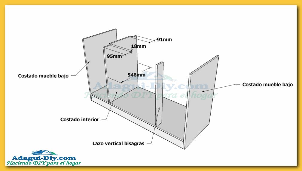 Como hacer muebles de cocina web del bricolaje dise o diy for Fabricar muebles