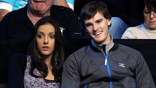 Jamie Murray And His Wife Alejandra Gutierrez Enjoying Match Together