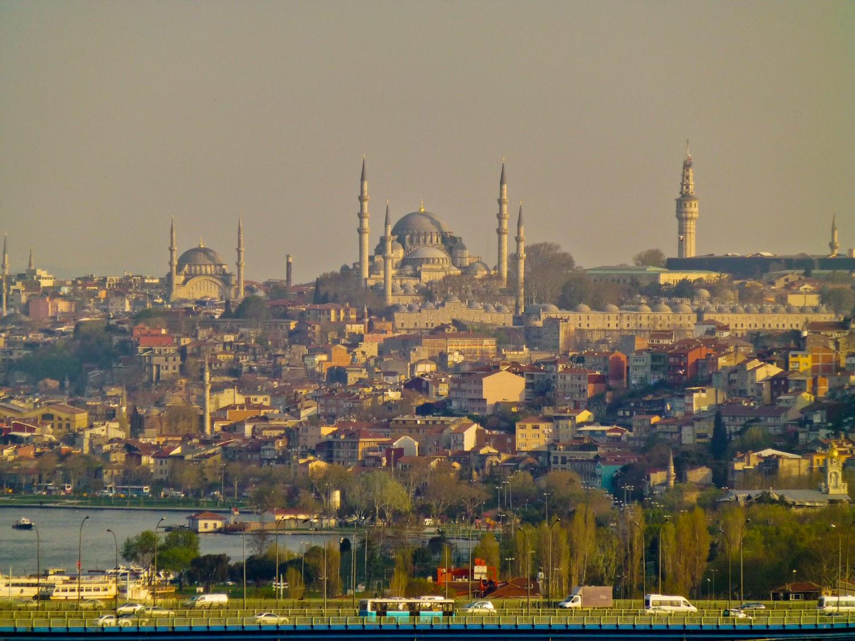 Suleymaniye Camii desde el café de Pierre Loti