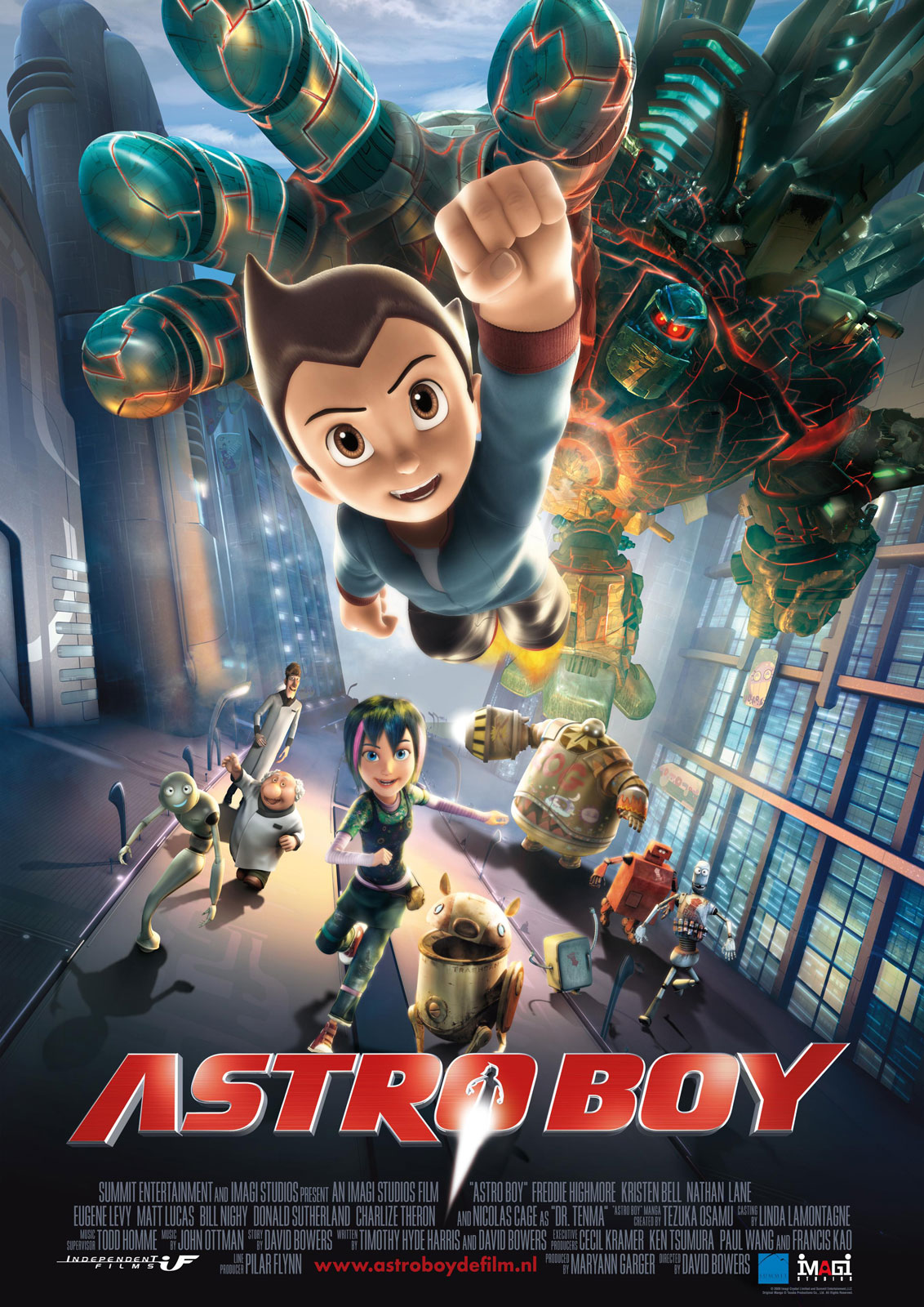 Astro Boy 2009 BluRay 720p 1.3GB ( Hindi – English ) MKV
