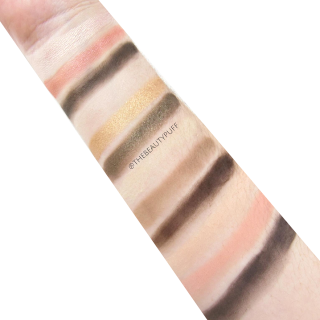 jordana eyeshadow swatches - the beauty puff