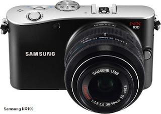 Samsung NX100 digital camera