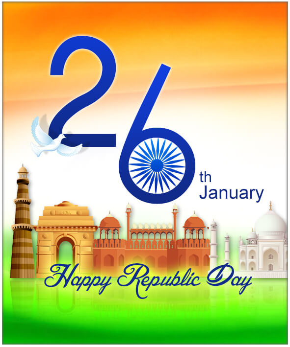 Republic day Greeting Cards Eventom Happy new year 2017