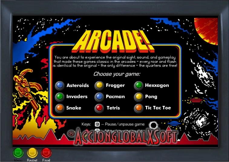 Arcade Classic Arcade Pack 5 10 Portable Juegos Retro