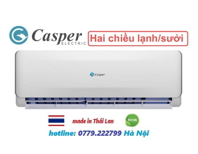 Điều hòa Casper 2 chiều 9000BTU EH-09TL22