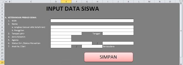 Download Aplikasi Biodata Siswa Baru 2018/2019