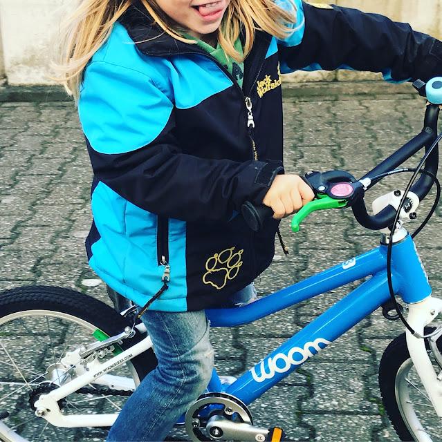 Fahrradfahren üben - woombike