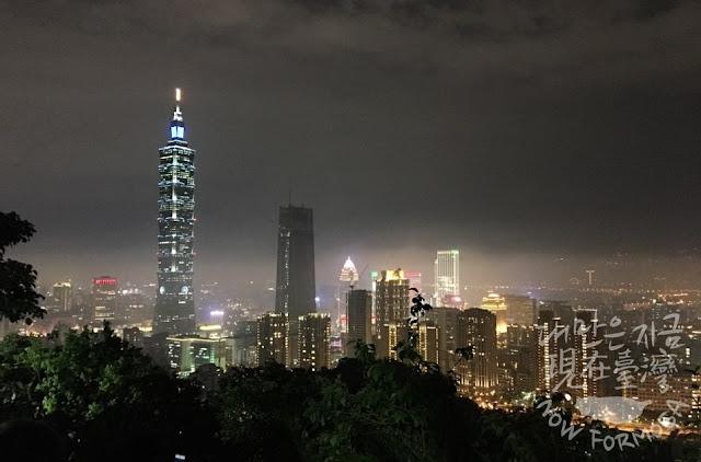 대만(台灣) 타이베이(台北) 야경[전미숙 촬영 = 대만은 지금]
