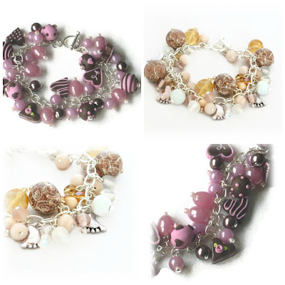 Bespoke Charm Bracelets handmade by Lottie Of London