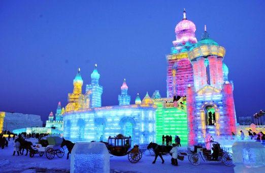 China inaugurará el mayor parque de hielo y nieve del mundo en Navidad