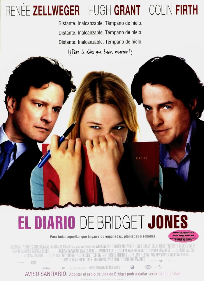 El Diario de Bridget Jones - Cartel