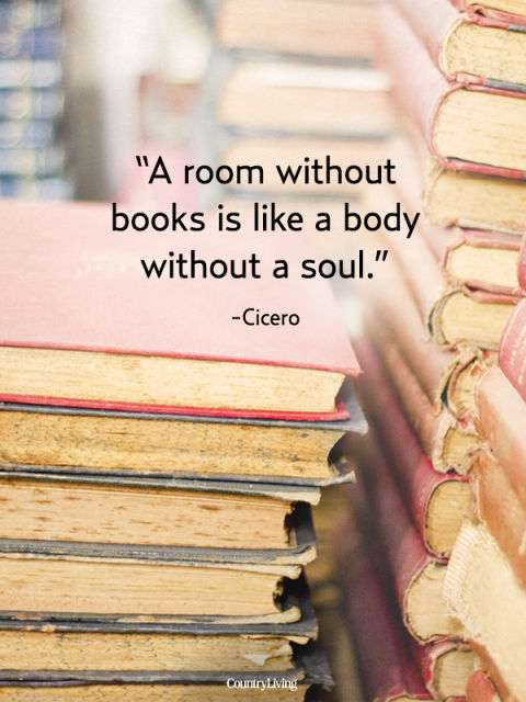 Quotes on Books, Cicero Quote