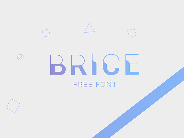 Download Font Edisi Februari 2017 - Brice Font