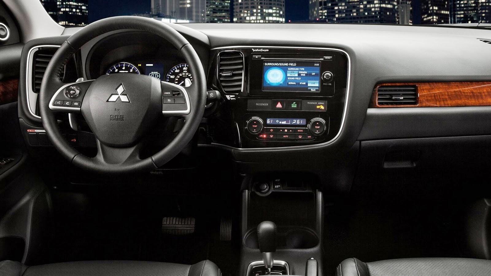 Latest cars models mitsubishi outlander 2013 - Mitsubishi outlander 2014 interior ...