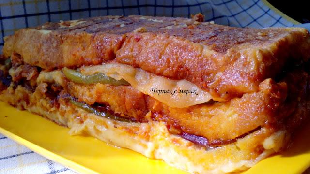 Вкусна торта- крок-мосю