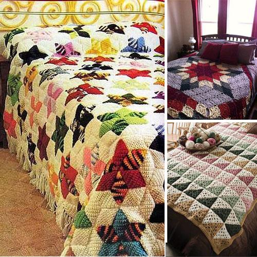 Crochet Patchwork Quilt Afghans