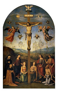 The altarpiece painted by Perugino for Agostino Chigi in Siena