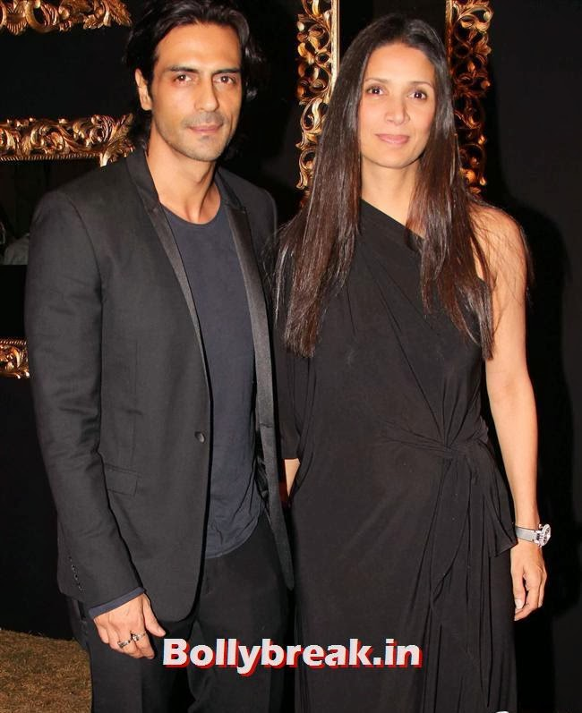 Arjun Rampal and Mehr Jessia, All Bollywood Celebs at Deepika Padukone Golden Party