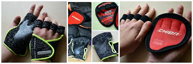 Motivation Grippads und Lady Motivation Gloves - Chiba