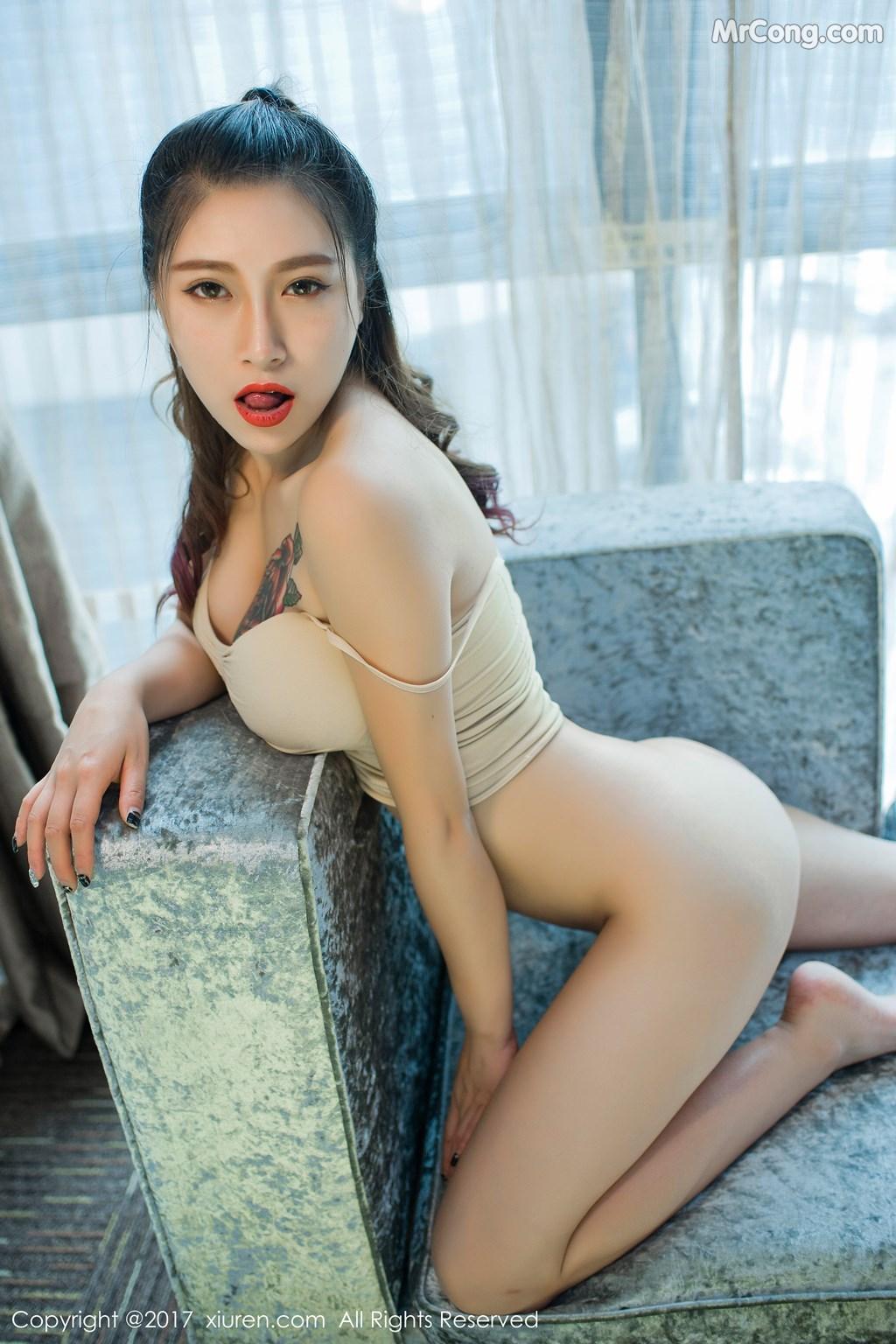 Image XIUREN-No.812-Du-Hua-Hua-MrCong.com-036 in post XIUREN No.812: Người mẫu Du Hua Hua (杜花花) (48 ảnh)