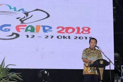 Lampung Fair (LF) 2018 Sukses Publikasikan Program Pembangunan Lampung