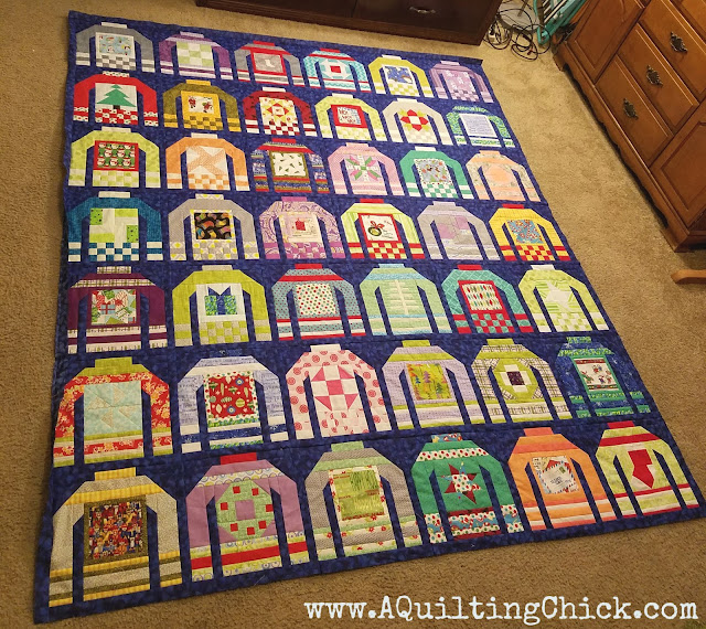 A Quilting Chick - Ugly Christmas Sweaters QAL